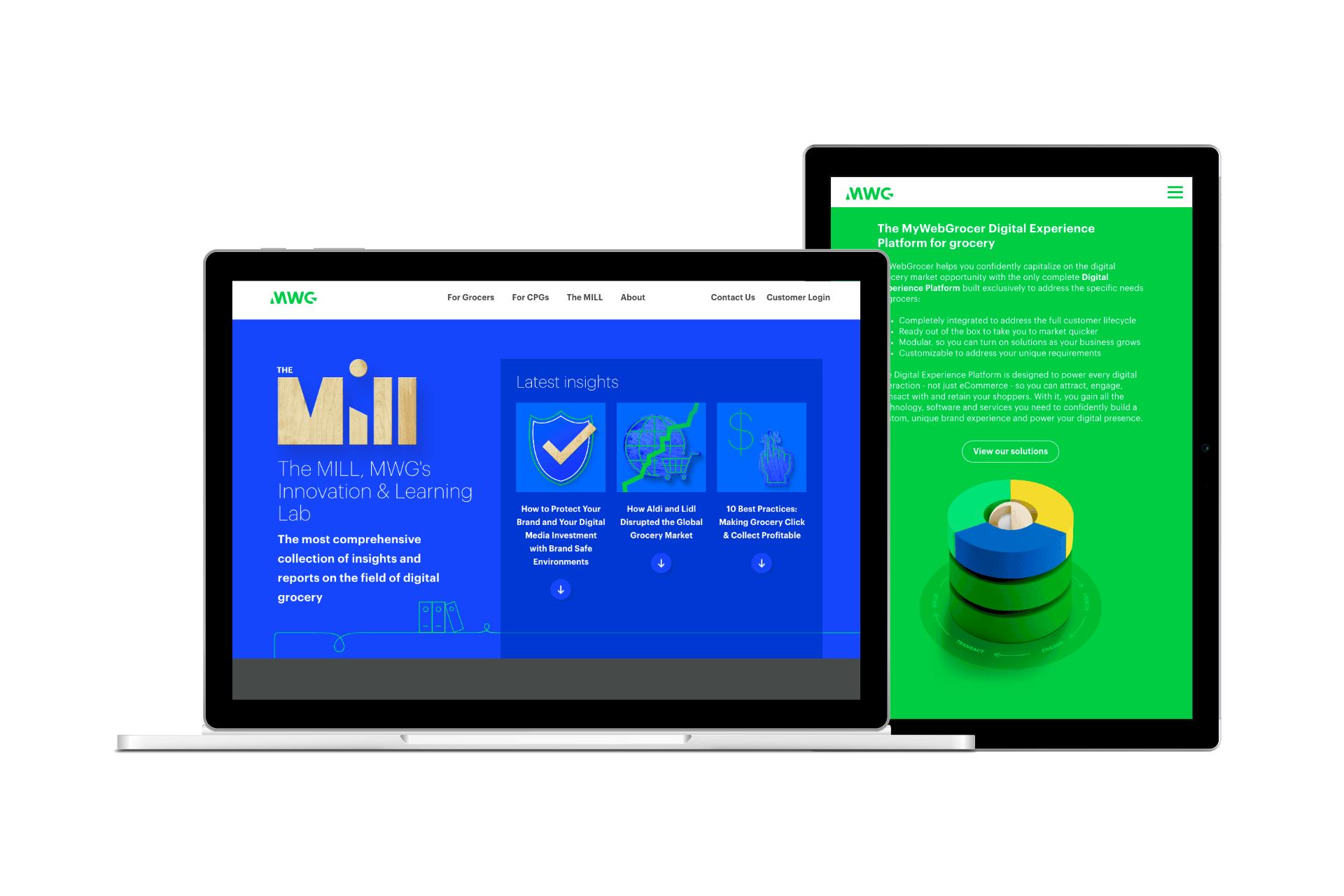 MyWebGrocer startup