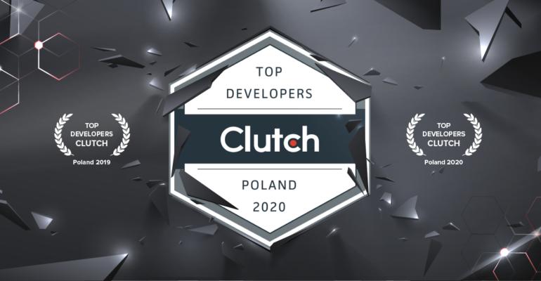 InterSynergy jednym z najlepszych software house'ów w Polsce wg znanego portalu branżowego Clutch!